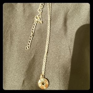 Jewelry - NWOB Gold Coin Compass necklace